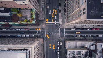 New York intersection