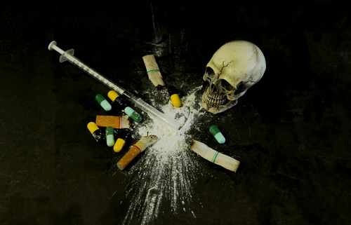 Heroin and other addictive substances